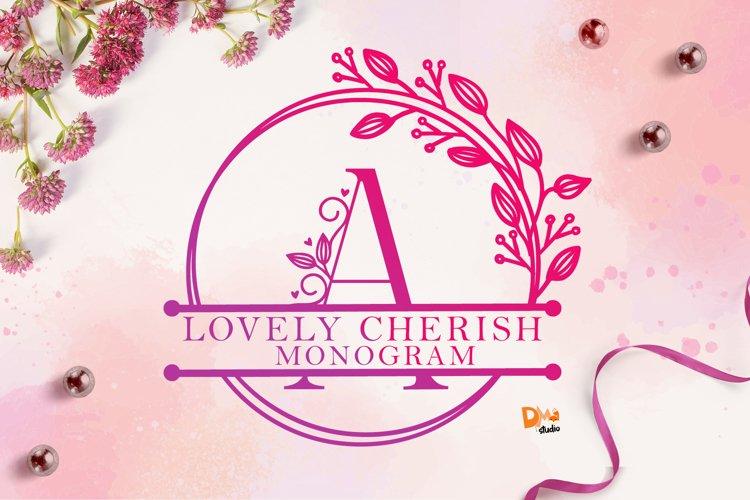 Monogram Lovely Cherish Font example image 1