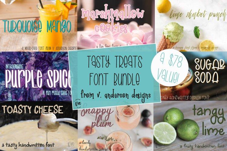 Tasty Treats Font Bundle | Includes 8 Delicious Fonts!