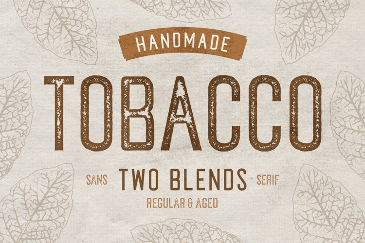 Tobacco Typeface example image 1