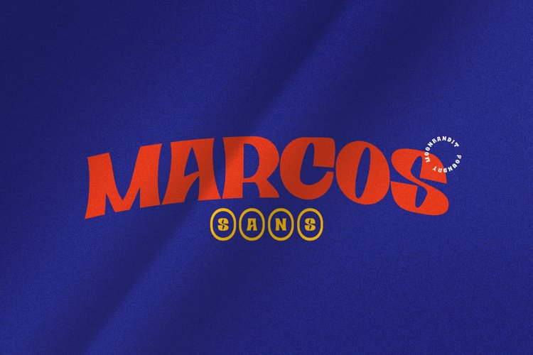 Marcos-playful vintage typeface