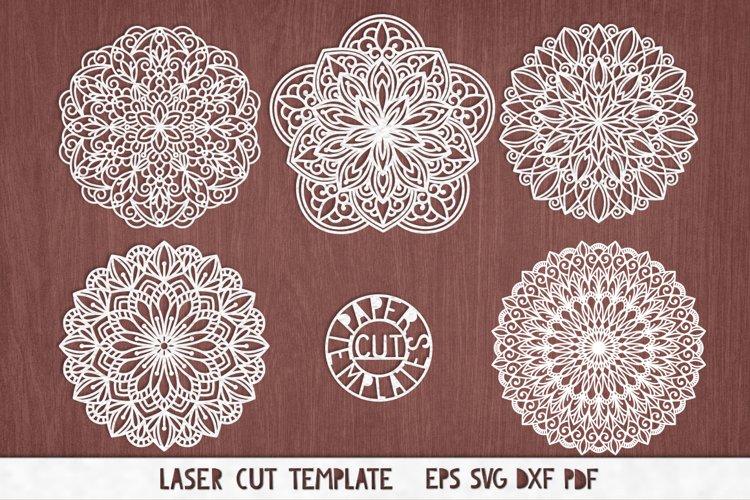 Download Svg Set Of Mandalas For Cricut Silhouette Cameo Laser Cut 432323 Cut Files Design Bundles