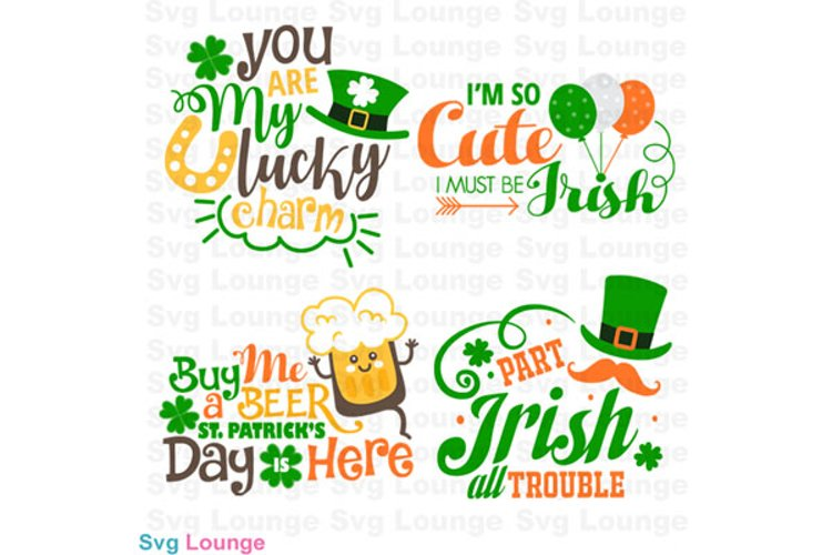St Patricks Day SVG Cut File example image 1