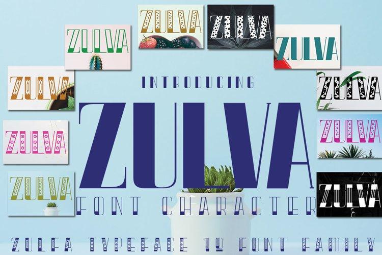 ZULVA FAMILY example image 1