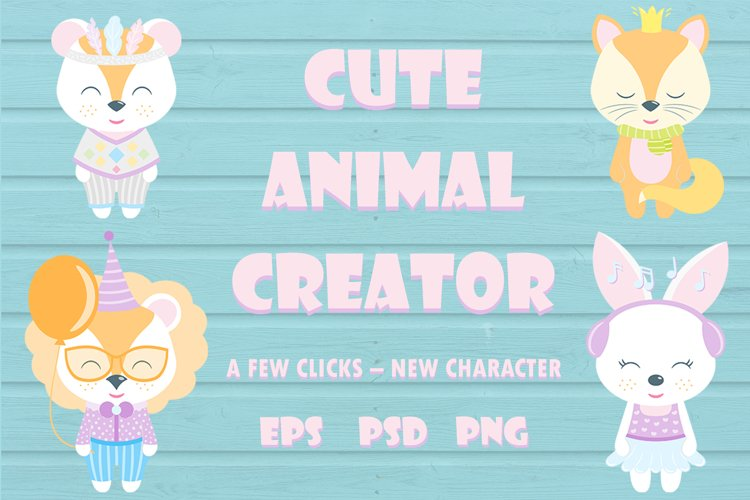 Cute Animal Creator example image 1