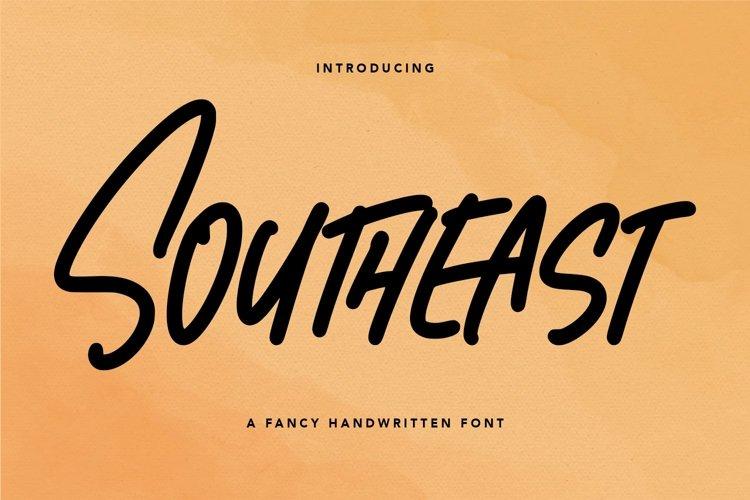 Web Font Southeast - Fancy Handwritten Font example image 1