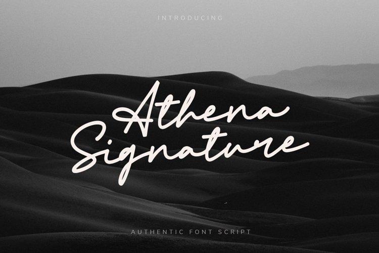 Athena Signature example image 1