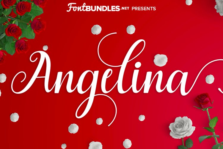 Angelina Script example image 1
