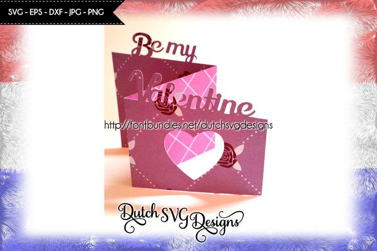 Valentine card cut file Be my Valentine, valentine svg, love