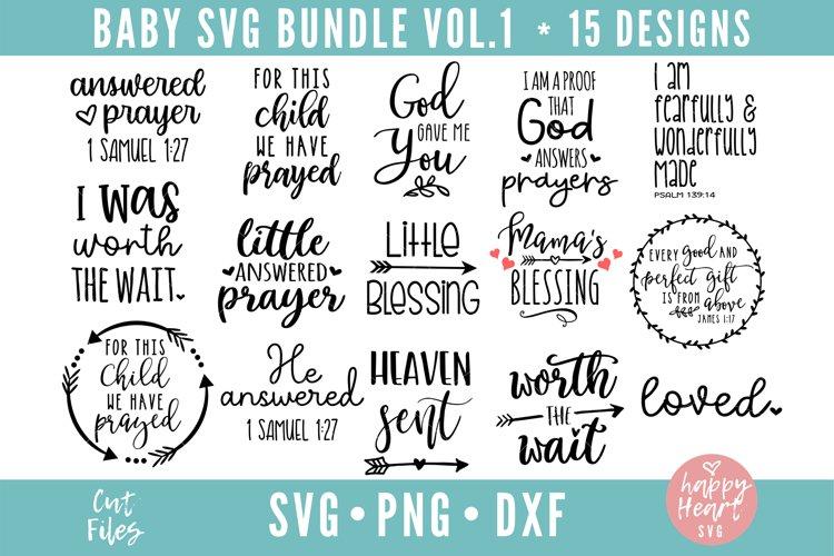 Baby Bundle - 15 Designs example image 1