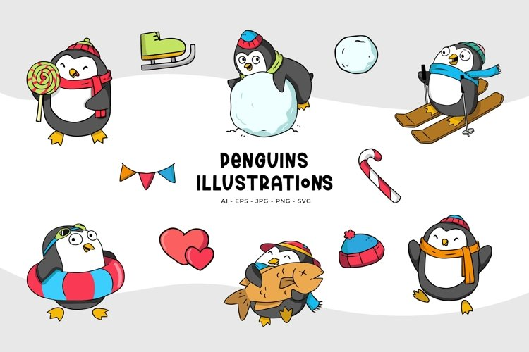 Penguin Illustrations