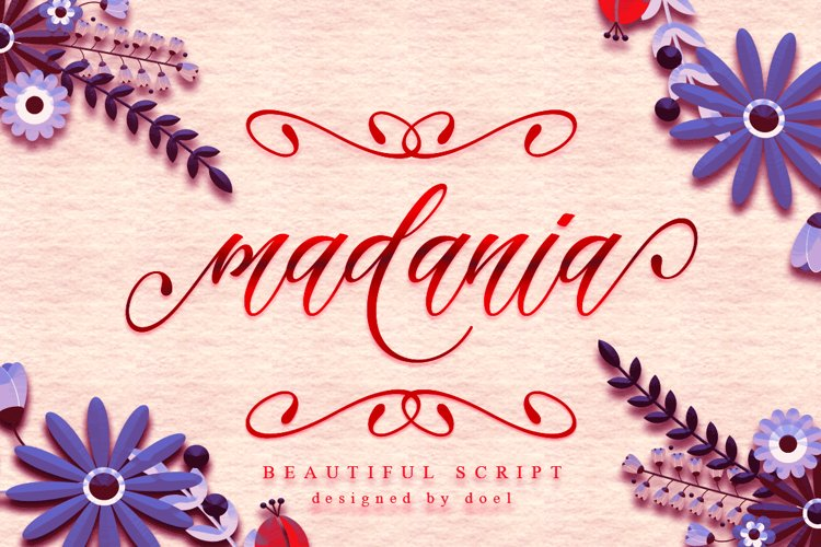 Madania Beautiful Script example image 1