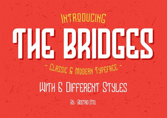 The Bridges Typeface example image 1
