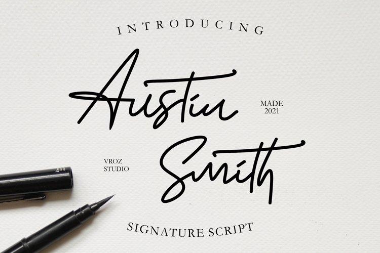 Austin Smith - Signature Script example image 1