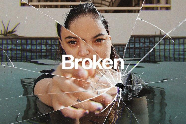 Broken Glass Photo Effect example image 1