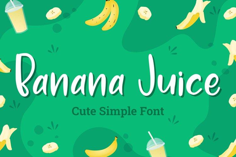 Banana Juice example image 1