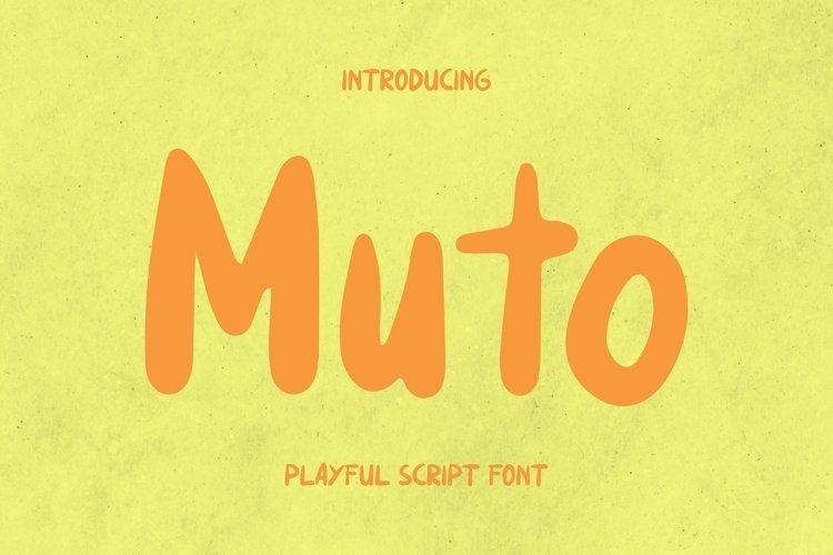 Web Font Muto Font example image 1
