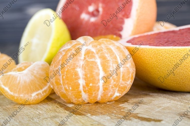 different citrus fruits example image 1
