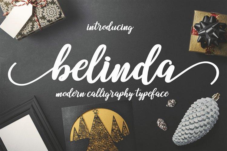 Belinda Script example image 1