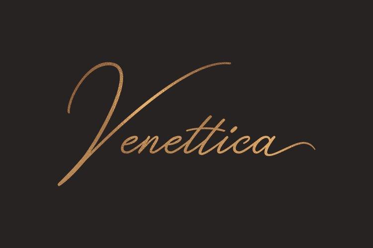 Venettica Signature Romantic Script example image 1