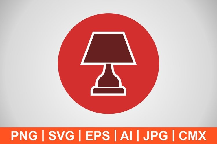 Vector Lamp Icon example image 1