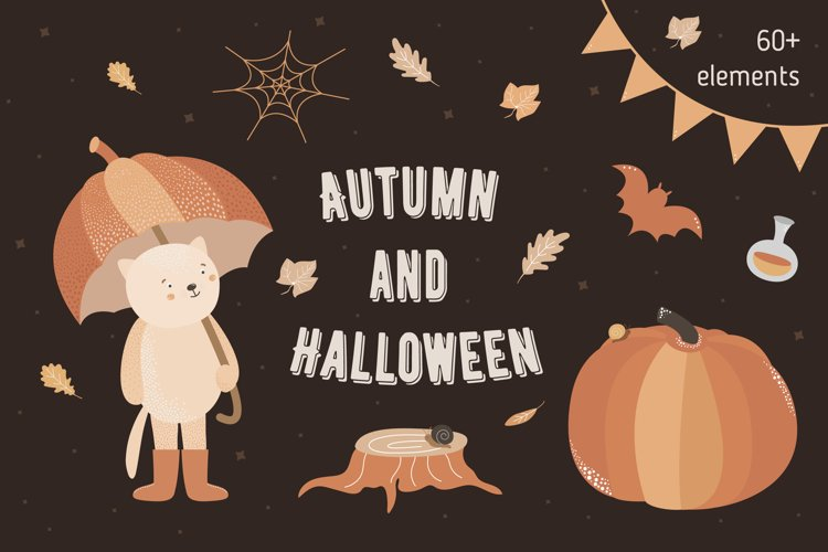 Autumn and Halloween collection