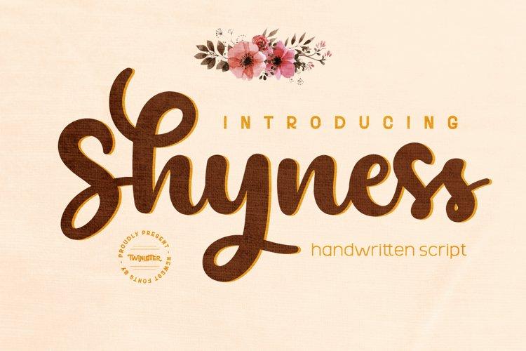 Shyness example image 1