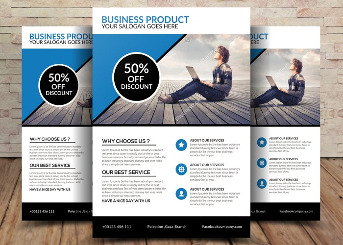 Business Product Flyer example image 1