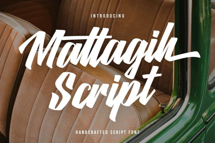 Matlagih Handcrafted Script Font example image 1