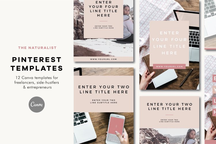 Pinterest Templates | The Naturalist example image 1