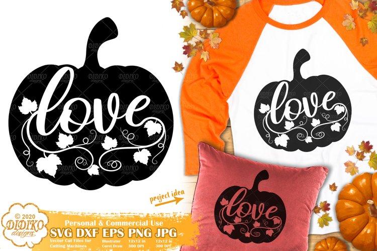 Pumpkin SVG   Fall SVG   Harvest SVG   Thanksgiving SVG example image 1