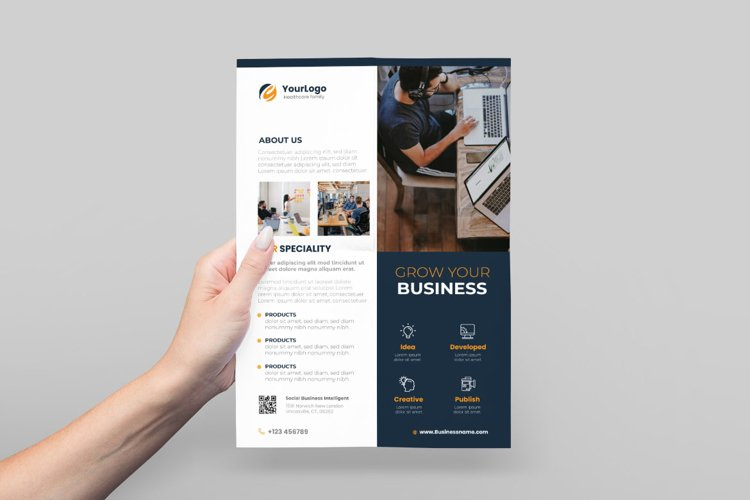 Business Service Flyer Design example image 1