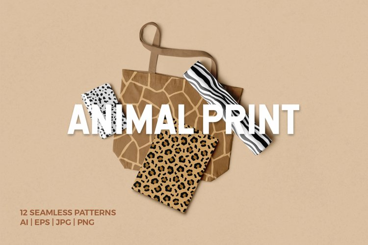 Animal Print Seamless Patterns example image 1