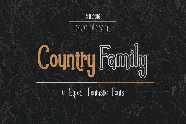 Country Family example image 1