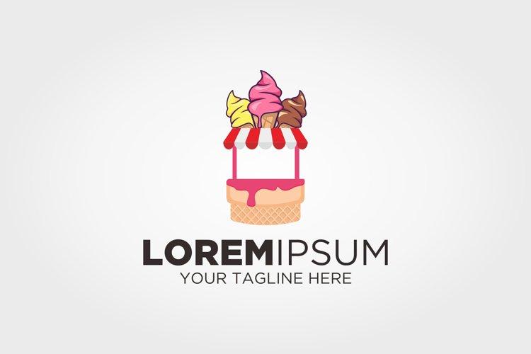 Ice Cream Shop Logo example image 1