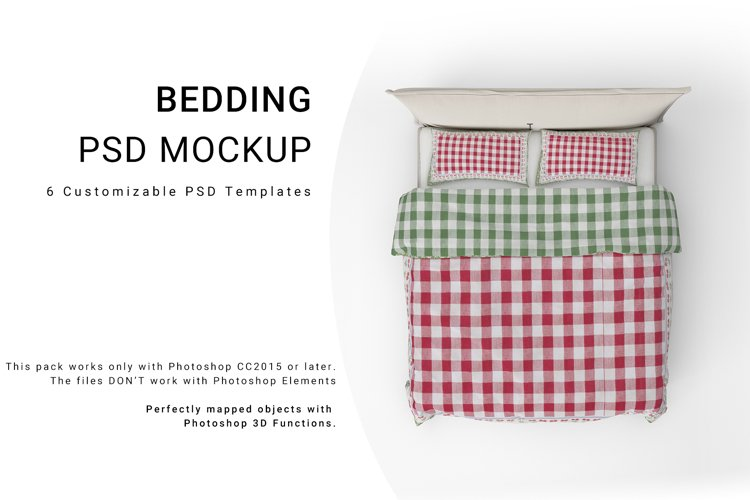 Bed Linens Mockup Se example image 1