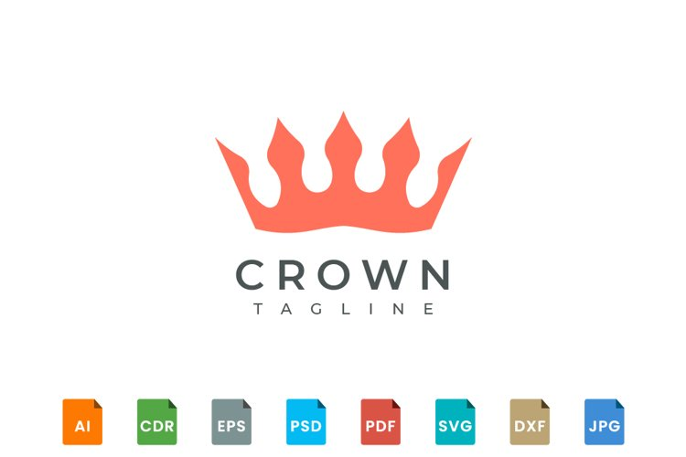 Crown logo design example image 1
