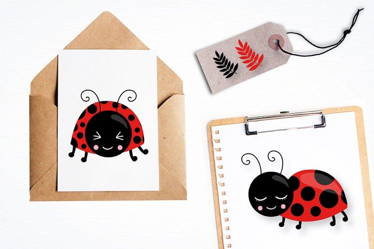 Little ladybug graphics and illustrations - Free Design of The Week Design0