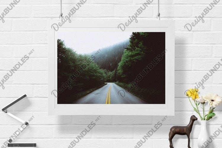 Misty Road - Wall Art - Digital Print example image 1