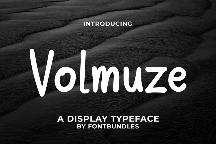Web Font Volmuse example image 1