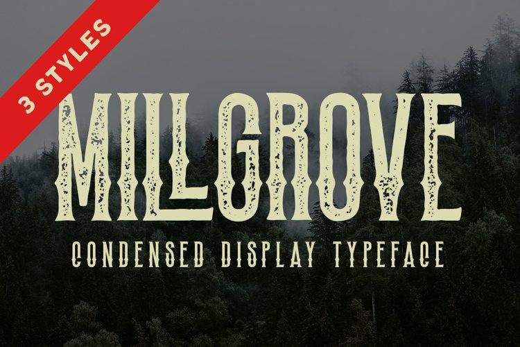 Millgrove - Condensed Display example image 1