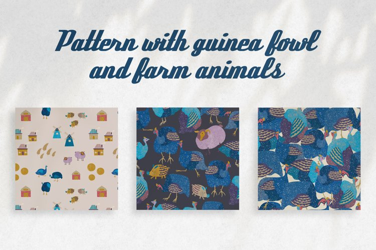 Patterns with guinea fowl example image 1