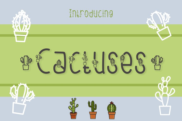 Cactuses example image 1