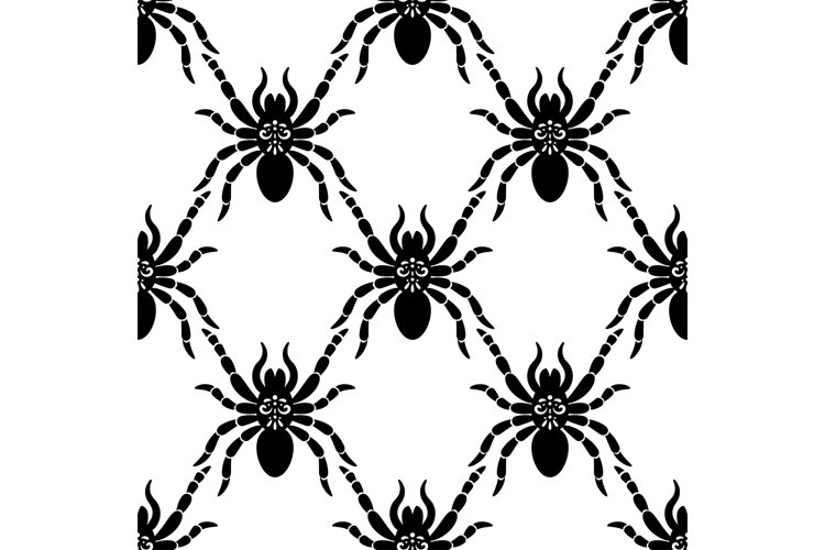 Spider web pattern example image 1