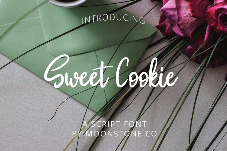 Sweet Cookie Handwritten Script example image 1