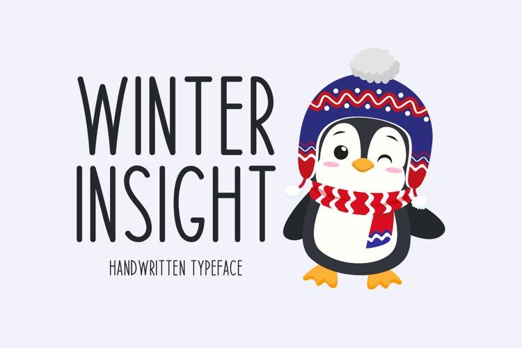 Winter Insight example image 1