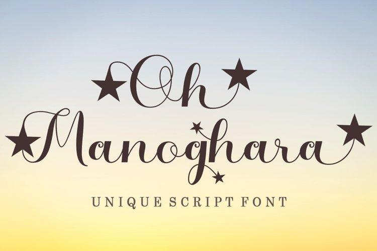 Oh Manoghara Unique