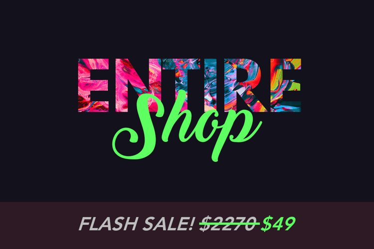 Entire Shop Bundle - Photoshop & Lightroom Add-Ons