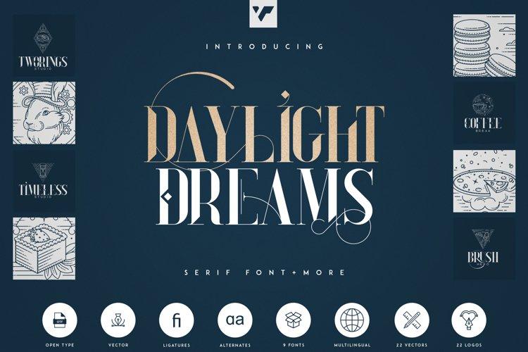 Daylight Dreams - Serif Font Extra example image 1