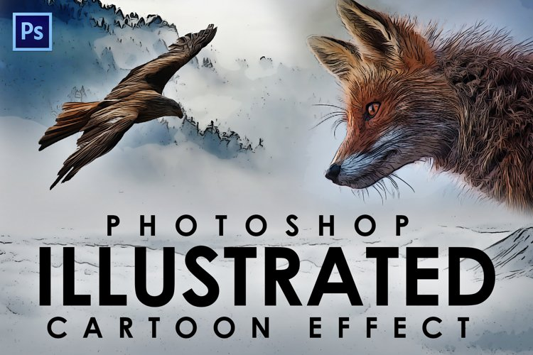 Easy Cartoon Illustration Effect