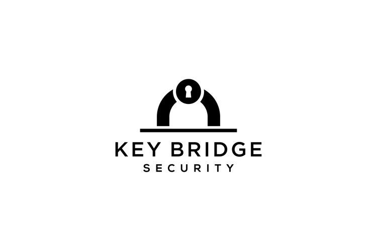 keyhole bridge logo example image 1